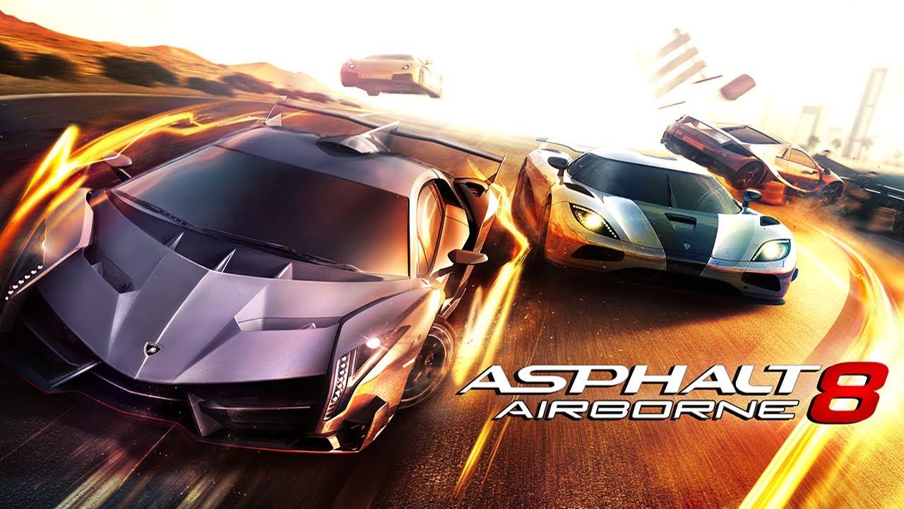 ASPHALT 8 AIRBORNE cover