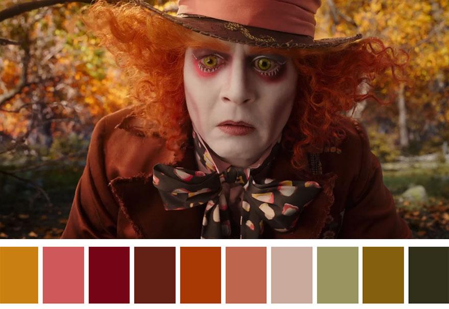 Alice através do espelho - paleta de cores 01