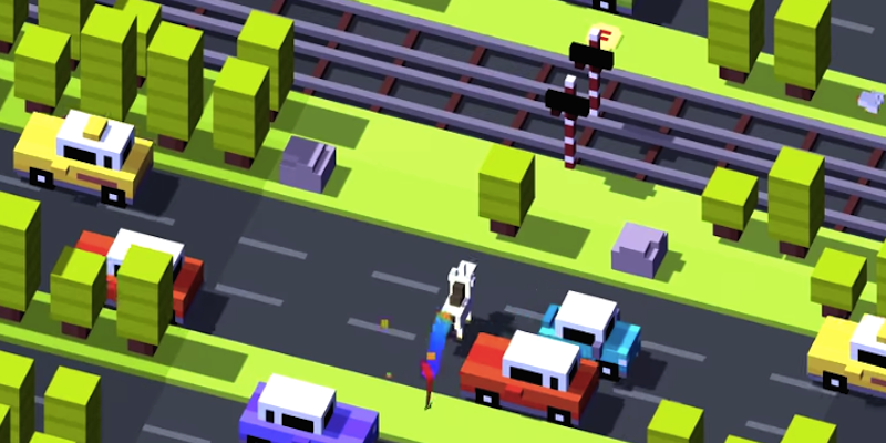 CROSSY ROAD - ENDLESS ARCADE HOPPER 01