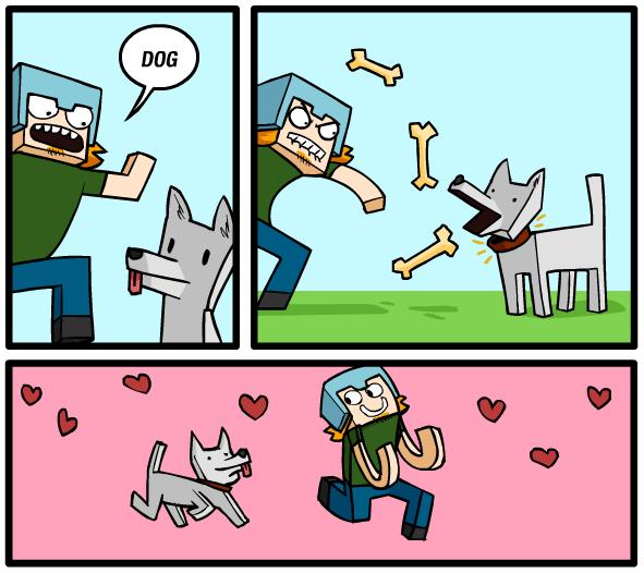 Minecraft - 3 quadrinhos excelentes de Awkward Zombie