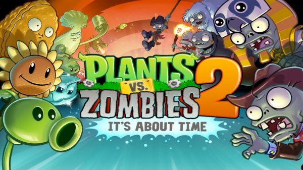 PLANTS VS. ZOMBIES 2 cover