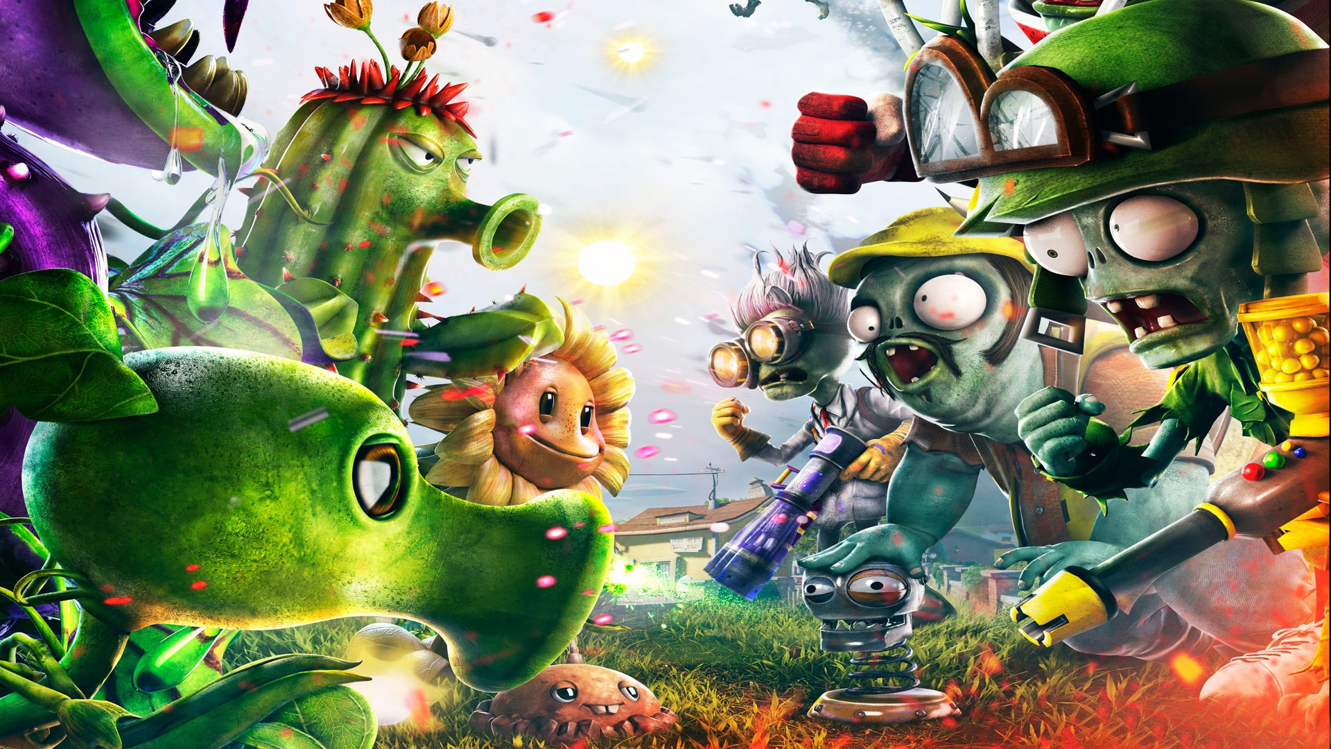 PLANTS VS. ZOMBIES 2 wallpaper