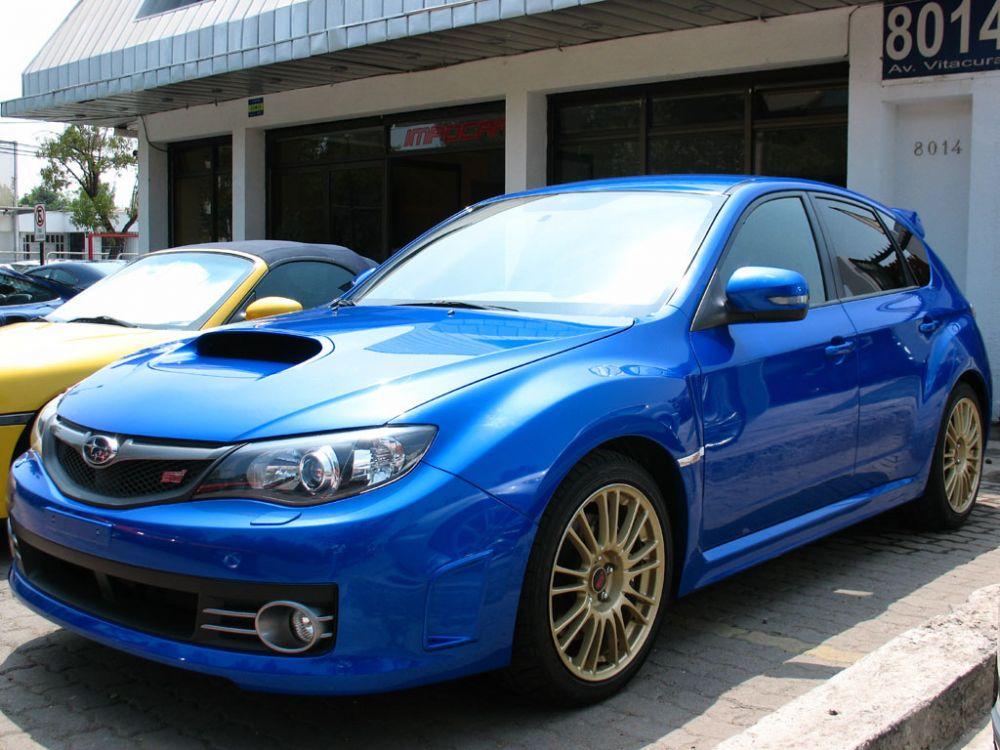 Subaru Impreza WRX STI metade do preco
