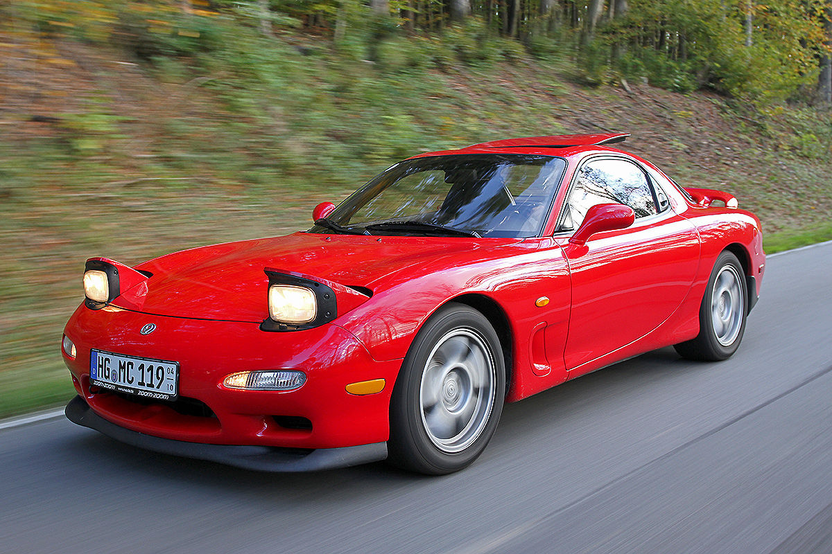 Wallpaper Top 10 JDM - Mazda RX-7