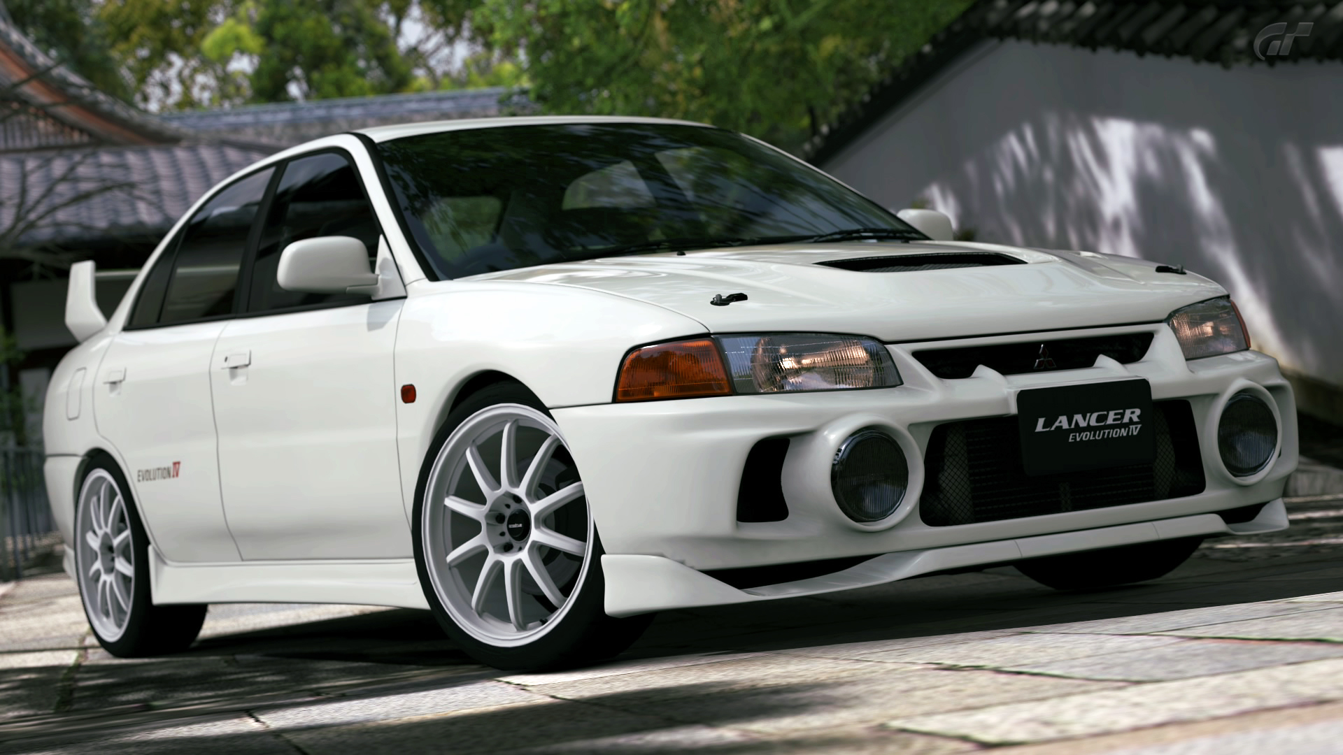 Wallpaper Mitsubishi Lancer Evolution