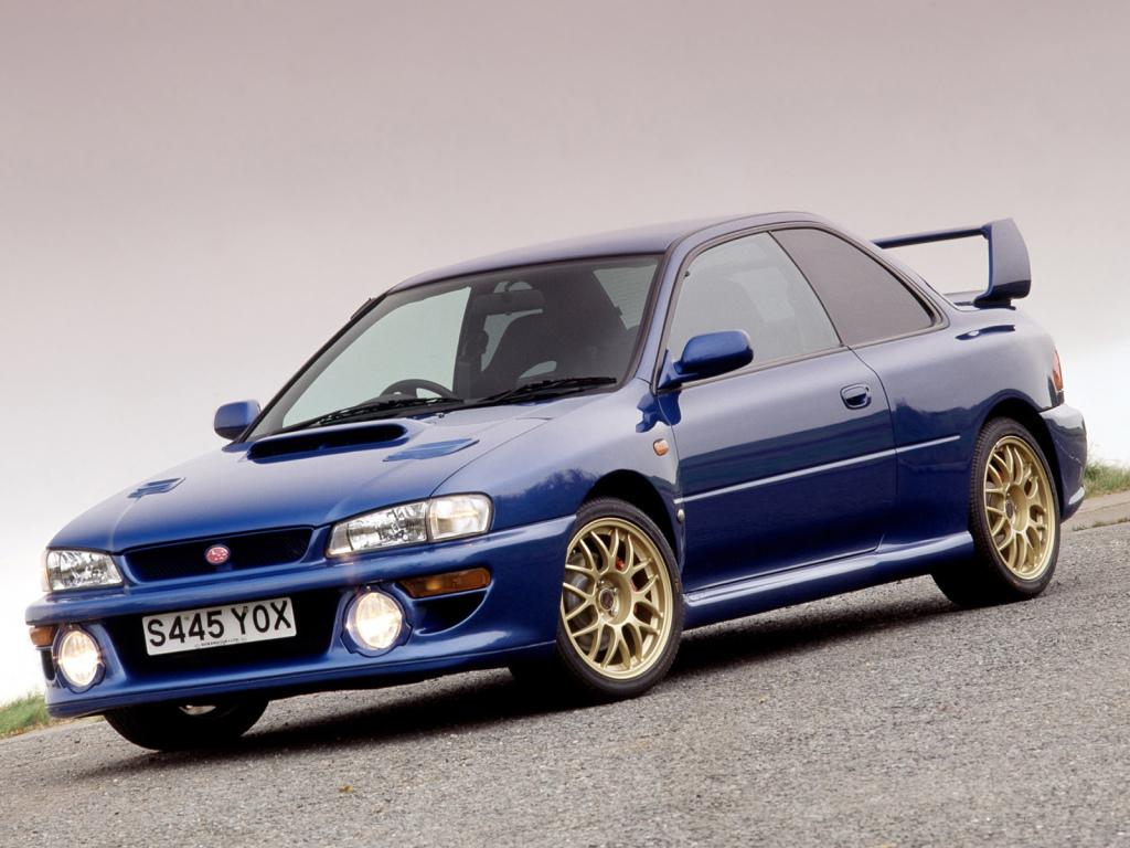 Top 10 JDM - Subaru Impreza WRX STI