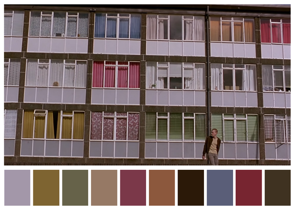 Trainspotting - paleta de cores 01