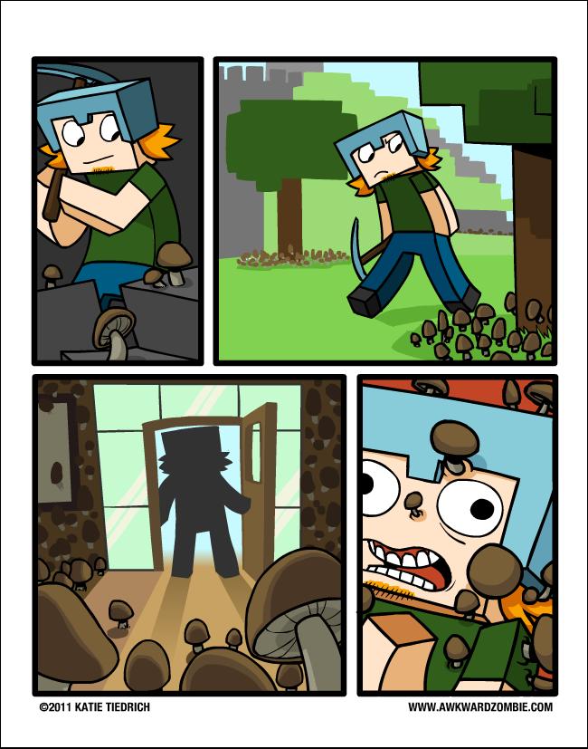 Minecraft - quadrinho 03