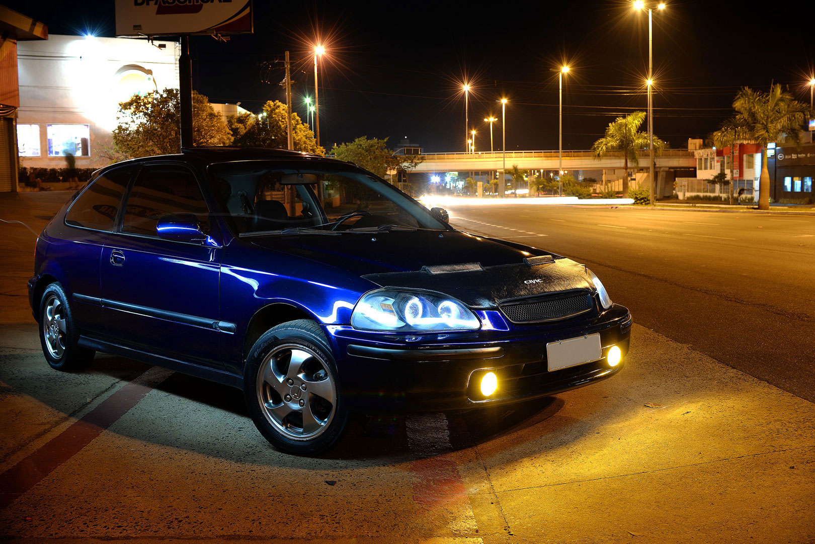 Ensaio Civic VTi Ek4