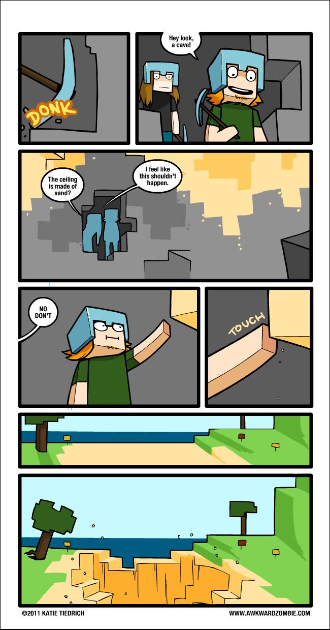 Minecraft - quadrinho 02
