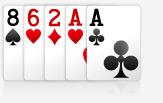poker um par