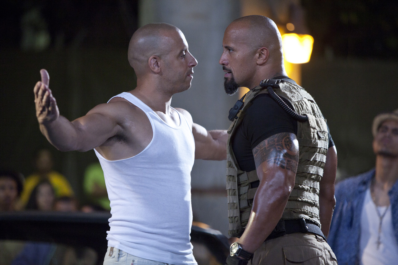 the rock e vin diesel