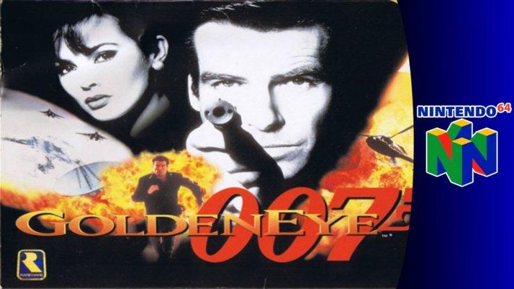 "4. ""GoldenEye 007-melhor jogo de tiro do nintendo64/best game 64 bond!"