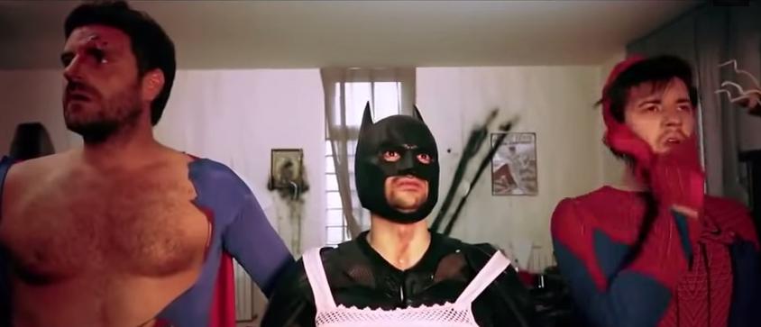A ressaca dos Super-hérois